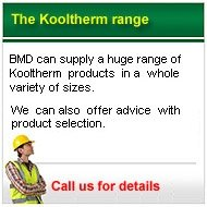 call us for prices on Kooltherm Insulation