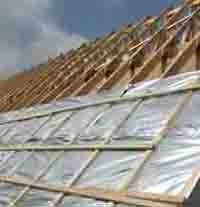 TLX silver over rafter application